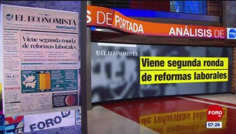 Análisis de las portadas nacionales e internacionales del 21 de enero del 2019