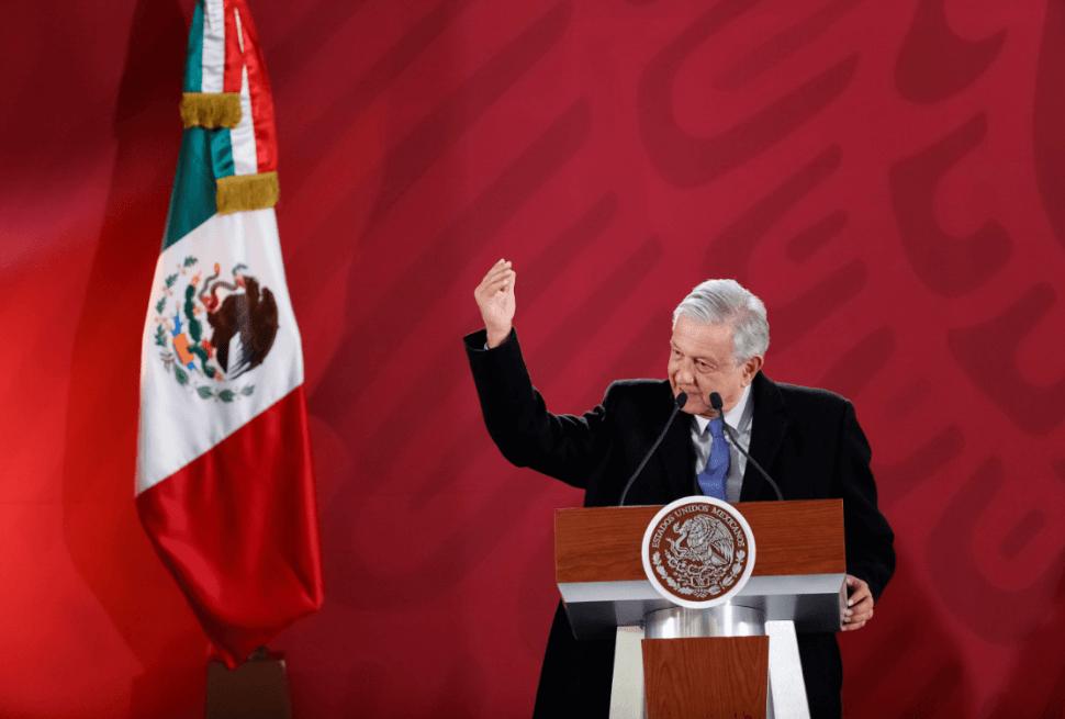 Andrés Manuel López Obrador, presidente de México. (EFE)