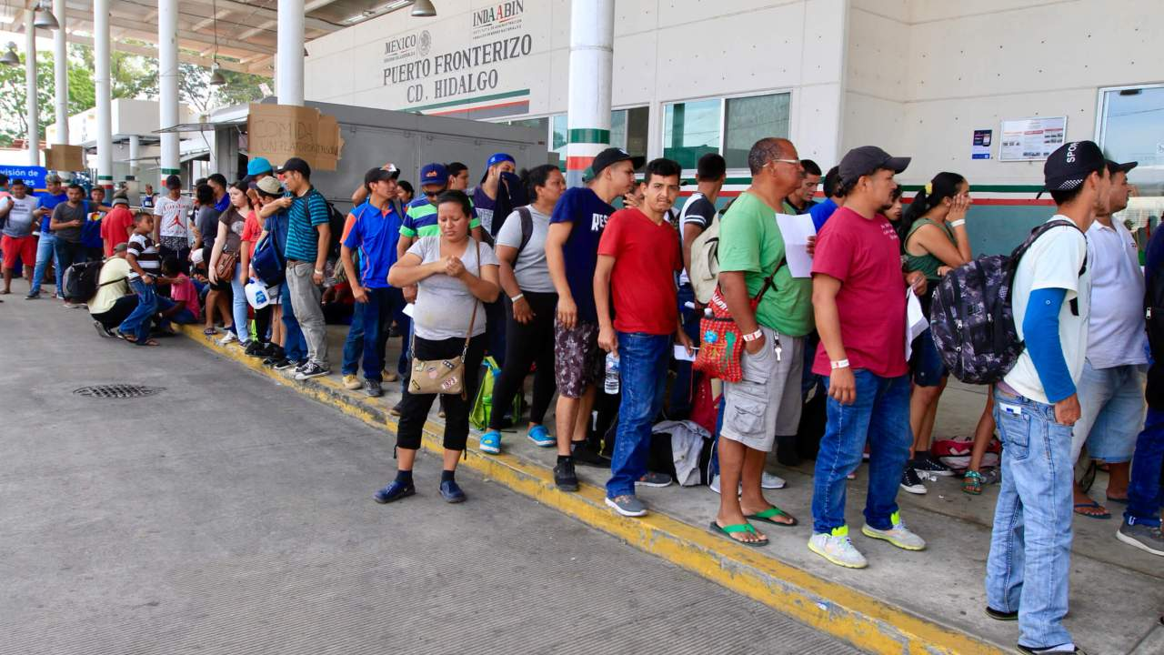 Nueva Caravana Migrante; 7 mil centroamericanos en Chiapas