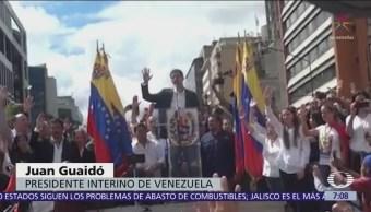 Así se autoproclamó presidente de Venezuela Juan Guaidó