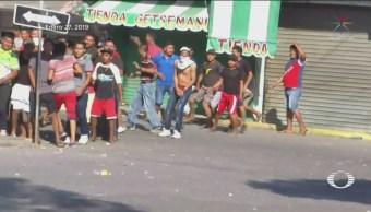 Foto: Atacan Migrantes Guatemala 28 de Enero 2019