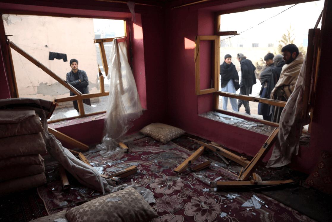 Foto: Ataque en Kabul, Afganistán. 15 de enero de 2019, Kabul, Afganistán