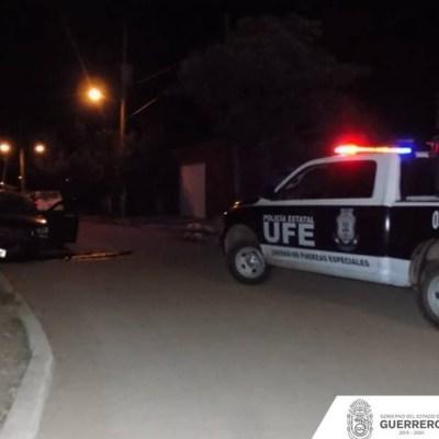 Atacan a policías en Acapulco; abaten a dos agresores