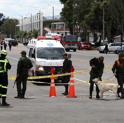 Identifican al autor del atentado contra escuela de policías en Colombia