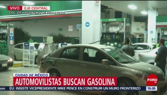Automovilistas Buscan Gasolina En La Cdmx