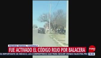 Foto: Automovilistas captan en video balacera en Piedras Negras, Coahuila