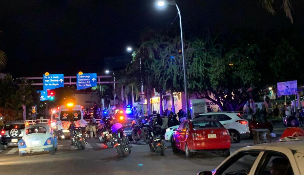 balacera en costera de acapulco deja cuatro heridos