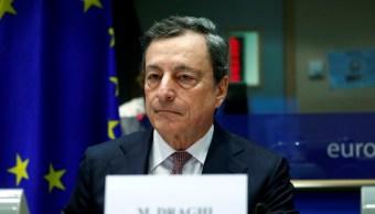 Foto: El presidente del BCE, Mario Draghi, espera testificar ante la Comisión de Asuntos Económicos y Monetarios del Parlamento Europeo en Bruselas, Bélgica, enero 28 de 2019, (Reuters)