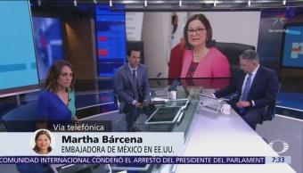 Bárcena: México busca contribuir al dinamismo de la frontera con EU