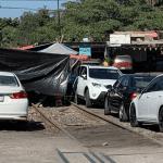 FOTO Bloqueos Michoacán: AMLO dice que no reprimirá al pueblo / Michoacán 27 enero 2019