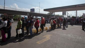bloqueos en cdmx estado mexico y guanajuato por desabasto de gasolina