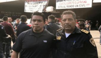 Bomberos declaran apoyo al nuevo director de la institución