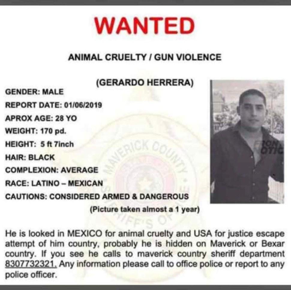 Buscan a hombre que apuñaló perro en Piedras Negras