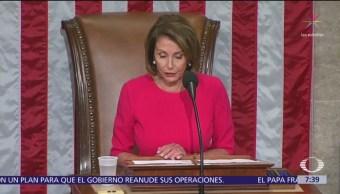 Cámara Baja aprueba presupuesto sin fondos para muro fronterizo, pasa al Senado