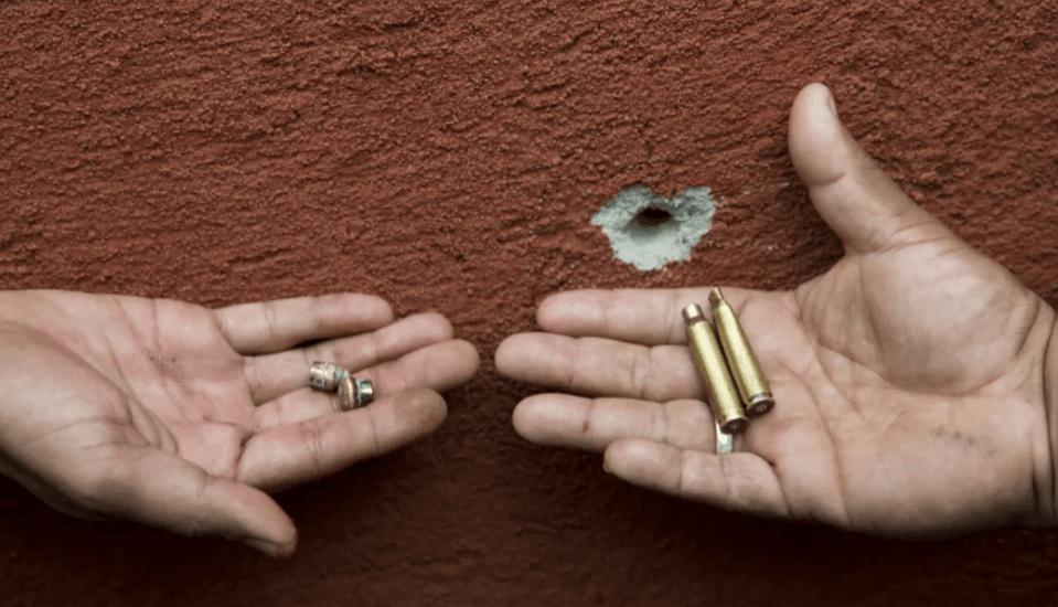 Foto: Casquillos de bala.