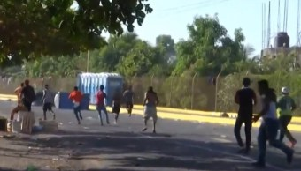 migrantes centroamericanos expulsados de guatemala se refugian mexico