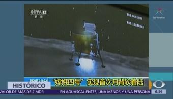 China completa misión en la cara oculta de la Luna