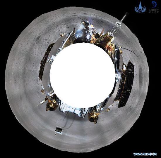 China difunde imágenes de cráteres del lado oscuro de la Luna