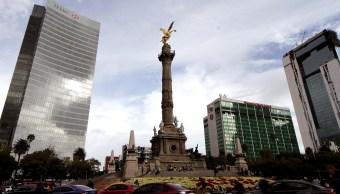 Foto: La Ciudad de México registra cielo medio nublado, 7 abril 2019
