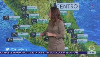 Clima Al Aire: Prevén lluvias dispersas para el Valle de México