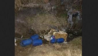 Robo combustible Guanajuato aseguran toma clandestina