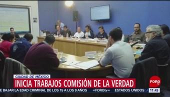 Comisión para la Verdad inicia trabajos sobre caso Ayotzinapa