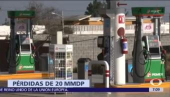 Concamin calcula pérdidas por 20 mil mdp por desabasto de gasolina