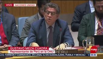 Foto, 26 enero 2019, Consejo de Seguridad de la ONU debate situación en Venezuela