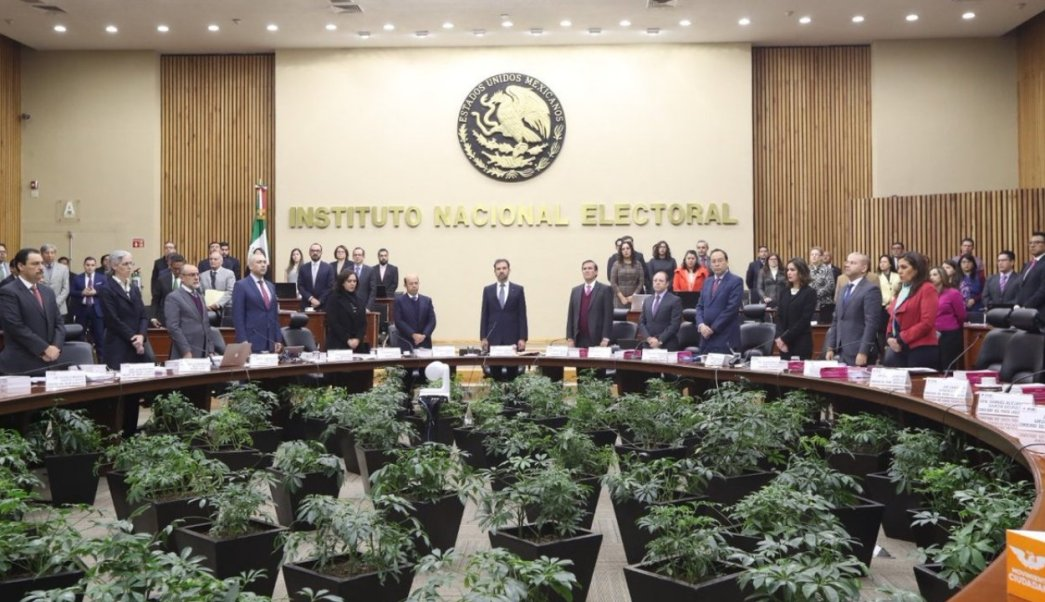 Consejo General del INE, Presupuesto 2019, 23 de enero 2019, Twiter
