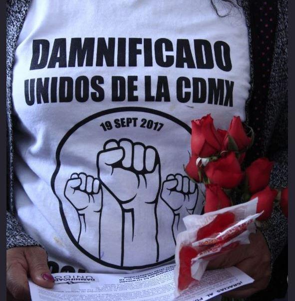 damnificados de cdmx marchan 19 meses sismo 2017