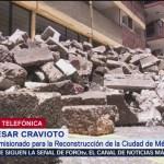 Foto: Darán apoyo para renta hasta entregar viviendas a damnificados por sismo de 2017: Cravioto
