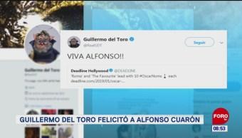 #EspectáculosenExpreso: Guillermo del Toro felicitó a Alfonso Cuarón