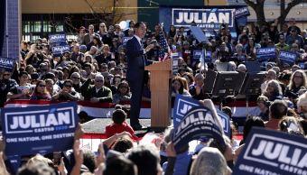 Julián Castro lanza candidatura presidencial demócrata en EU