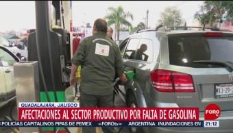 Desabasto de gasolina afecta Querétaro, Jalisco y Coahuila