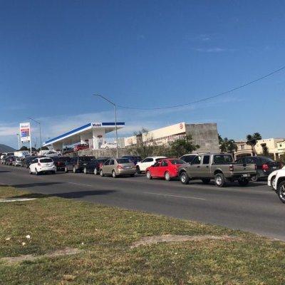 Desabasto de gasolina llega a Nuevo León
