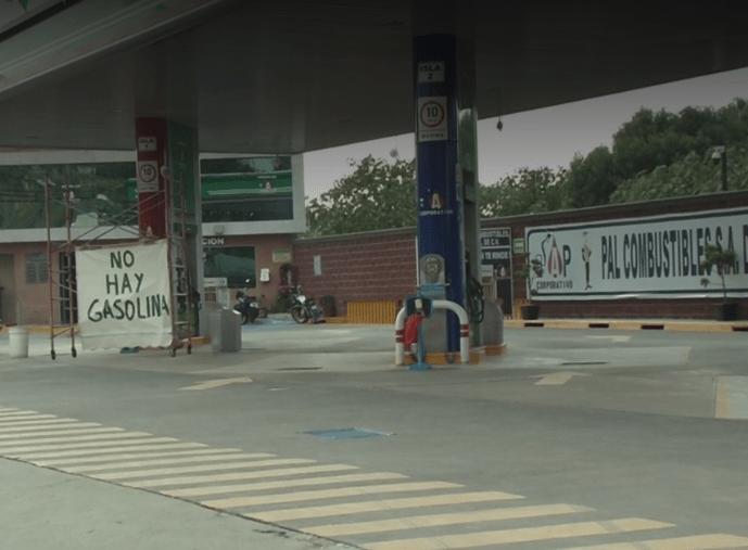 Chalco, Chimalhuacán y Los Reyes, con desabasto de gasolina
