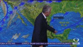 Despierta con Tiempo: Frente frío 26 provoca bajas temperaturas