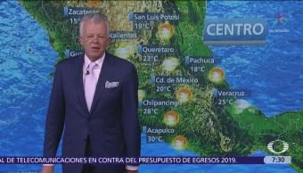 Despierta con Tiempo: Tormentas fuertes en Veracruz, Oaxaca y Chiapas