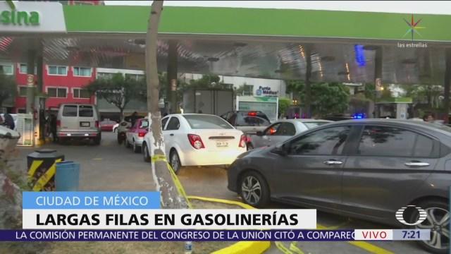 Despierta hace un recorrido por gasolineras de la CDMX