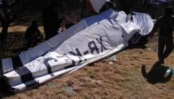 Foto: Desplome de avioneta en Durango, 30 de enero 2019. Twitter @karlaiberia
