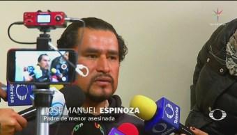 Detienen a presunto homicida de la niña Camila en Valle de Chalco