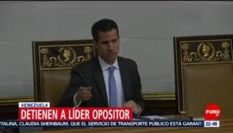 Detienen En Venezuela Al Jefe De La Asamblea Nacional, Venezuela, Jefe De La Asamblea Nacional, Policía De Inteligencia De Sebin, Juan Guaidó