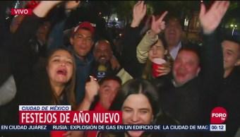 CDMX recibe 2019 con megafestejo en Reforma