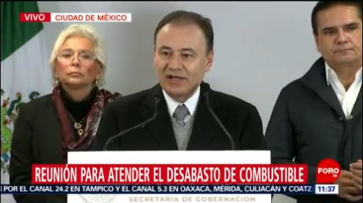 Durazo afirma que se combate a fondo robo de combustible