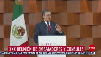 Ebrard afirma que México será respetuoso de autonomía de otros países
