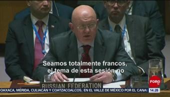 Foto: EEUU y Rusia muestran diferencias sobre Venezuela en la ONU, 26 enero 2019,