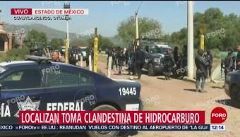 Ejército detecta toma clandestina de combustible en Cuautlancingo, Edomex