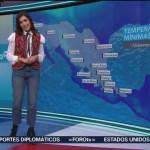El Clima A las Tres con Daniela Álvarez del 18 de enero de 2019