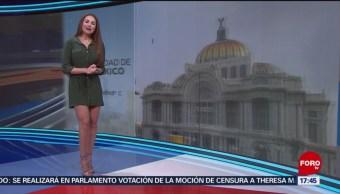 El Clima Las Noticias FOROtv Mayte Carranco Lluvias