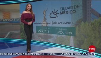 El clima, con Mayte Carranco del 16 de enero de 2019